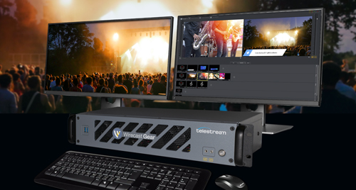 Live Video Streaming Pros Use Wirecast Gear All-in-One Appliance